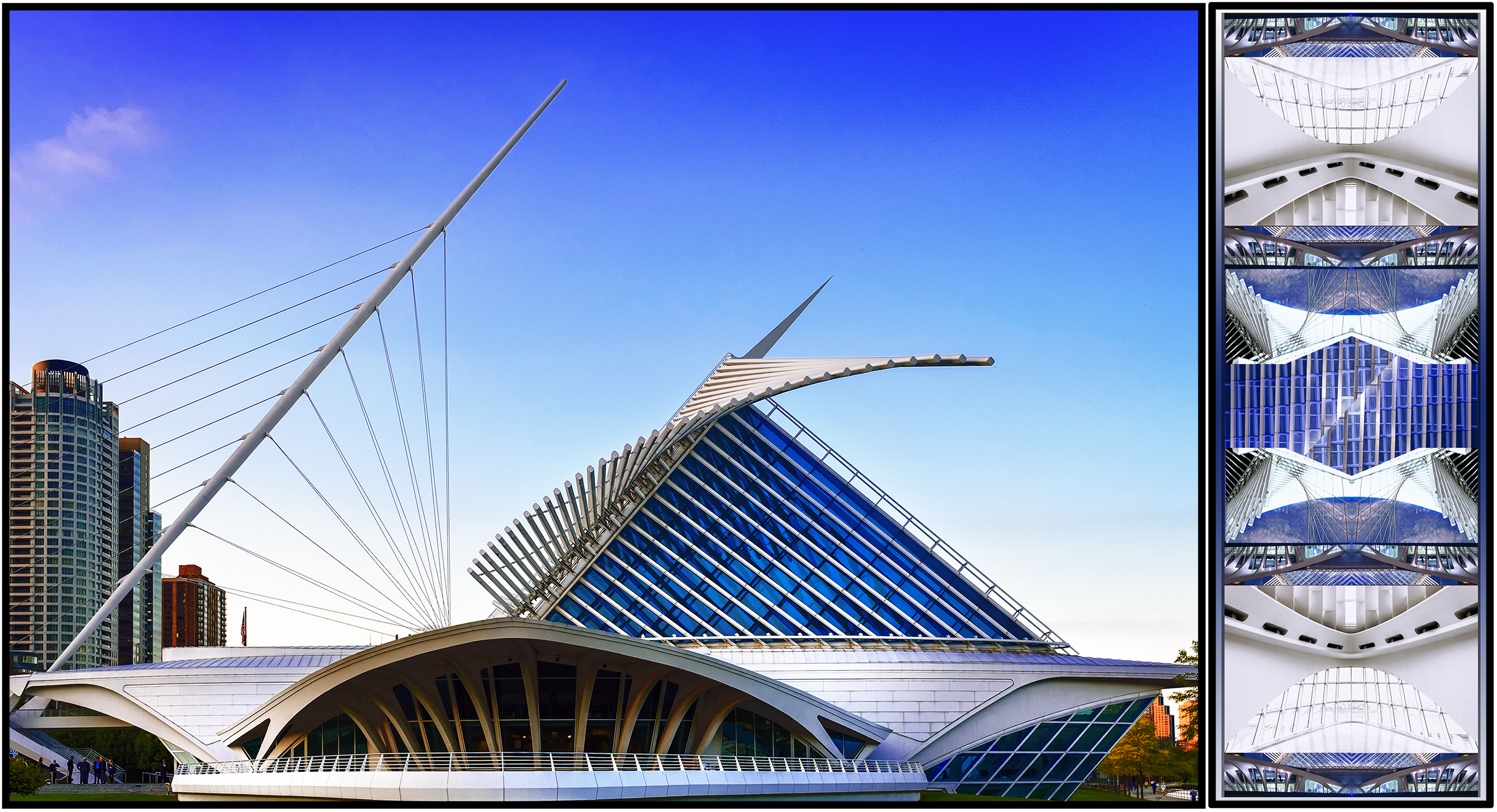 Milwaukee Art Museum | Santiago Calatrava, Architect -
