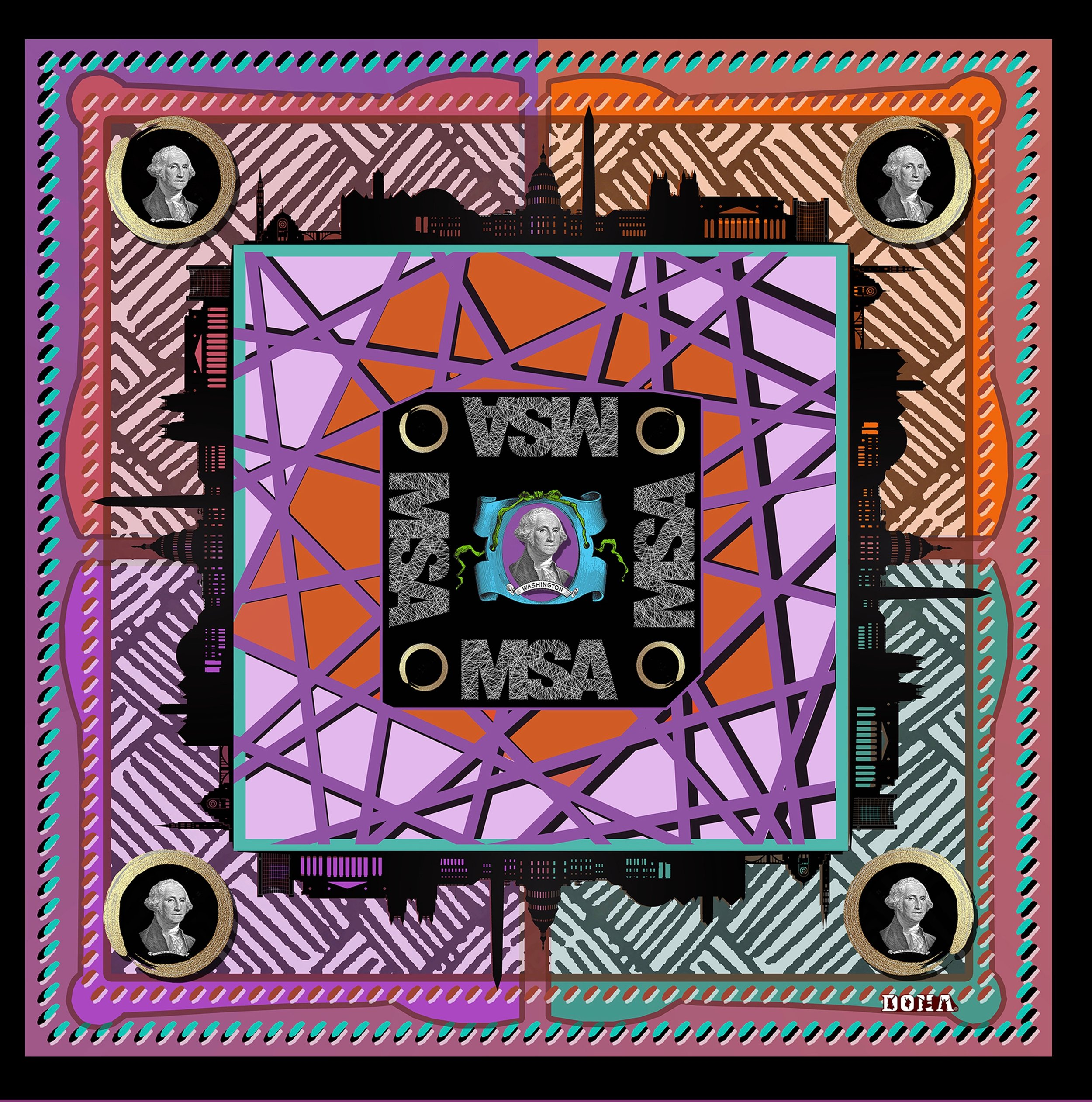 MSA | Museum Store Association | Promotional Scarf - DONA SCARVES is a proud vendor member of MSA and a vendor advisor 2017-2019 for the Florida Chapter of MSA | The Museum Store Association is an International organization with a mission of advancing the nonprofit retail industry and the success of the professionals engaged in it by encouraging high standards of knowledge and professionalism MSA helps nonprofit retail professionals better serve their institutions and the public.