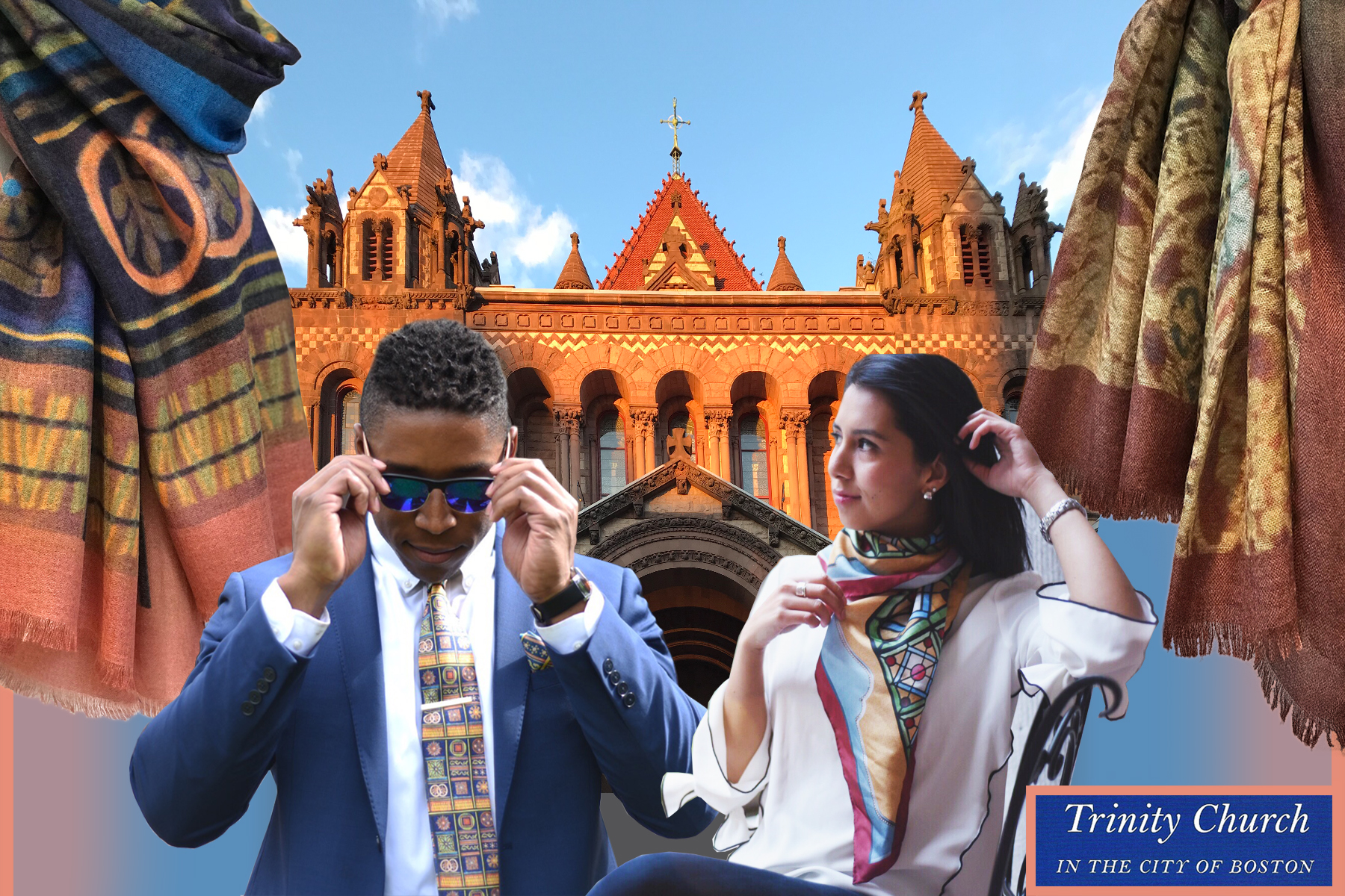 TRINITY CHURCH | NECKTIES, BOW TIES, POCKET SQUARES & SCARVES