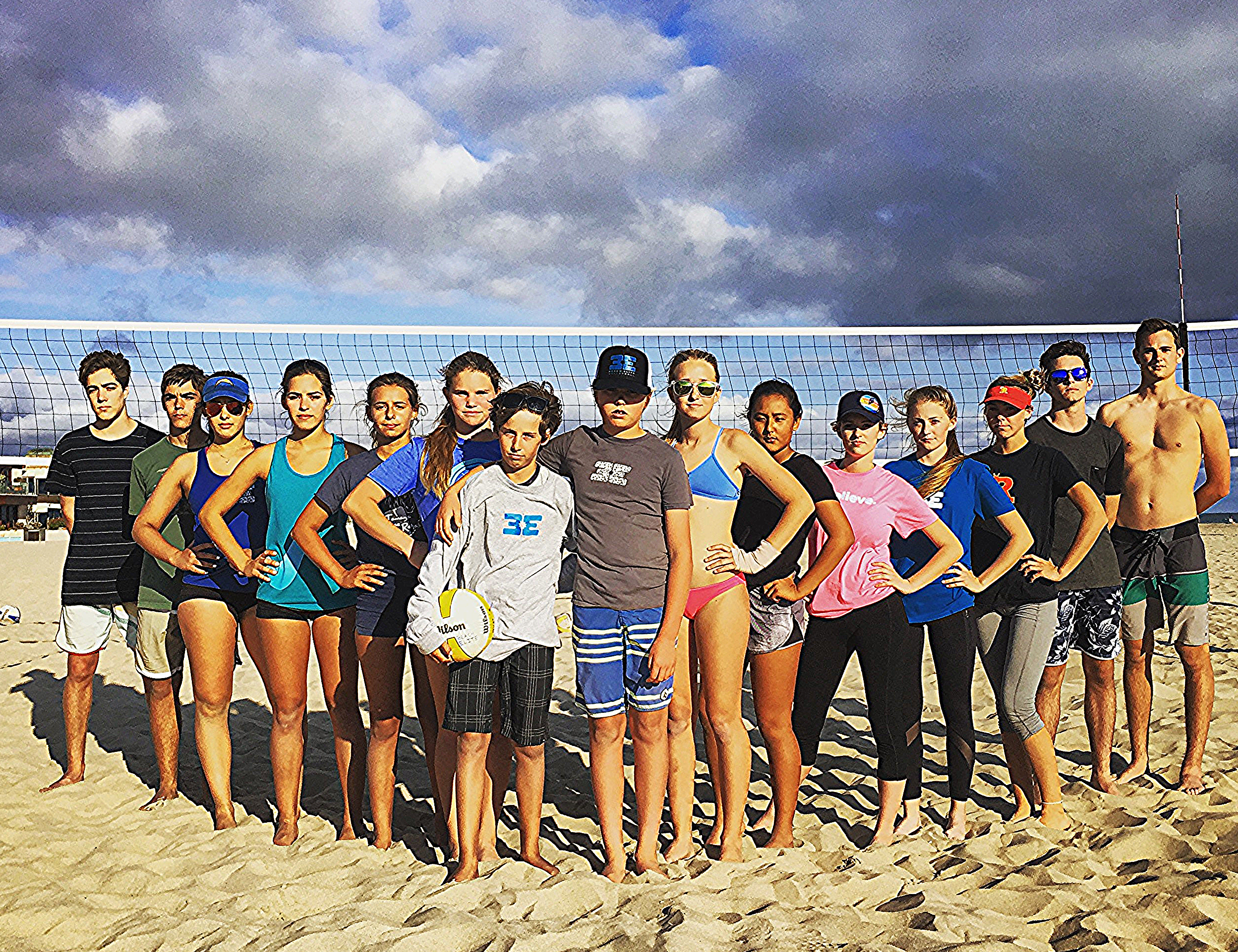 2016 Beach Elite Spring Club Team  (Not photographed: Isa, Nikki and Jojo)
