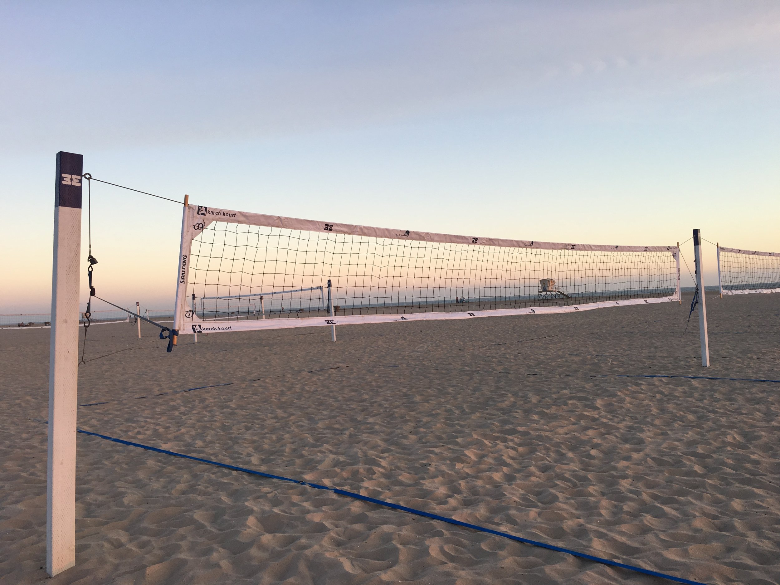 Magnolia Street Volleyball Courts