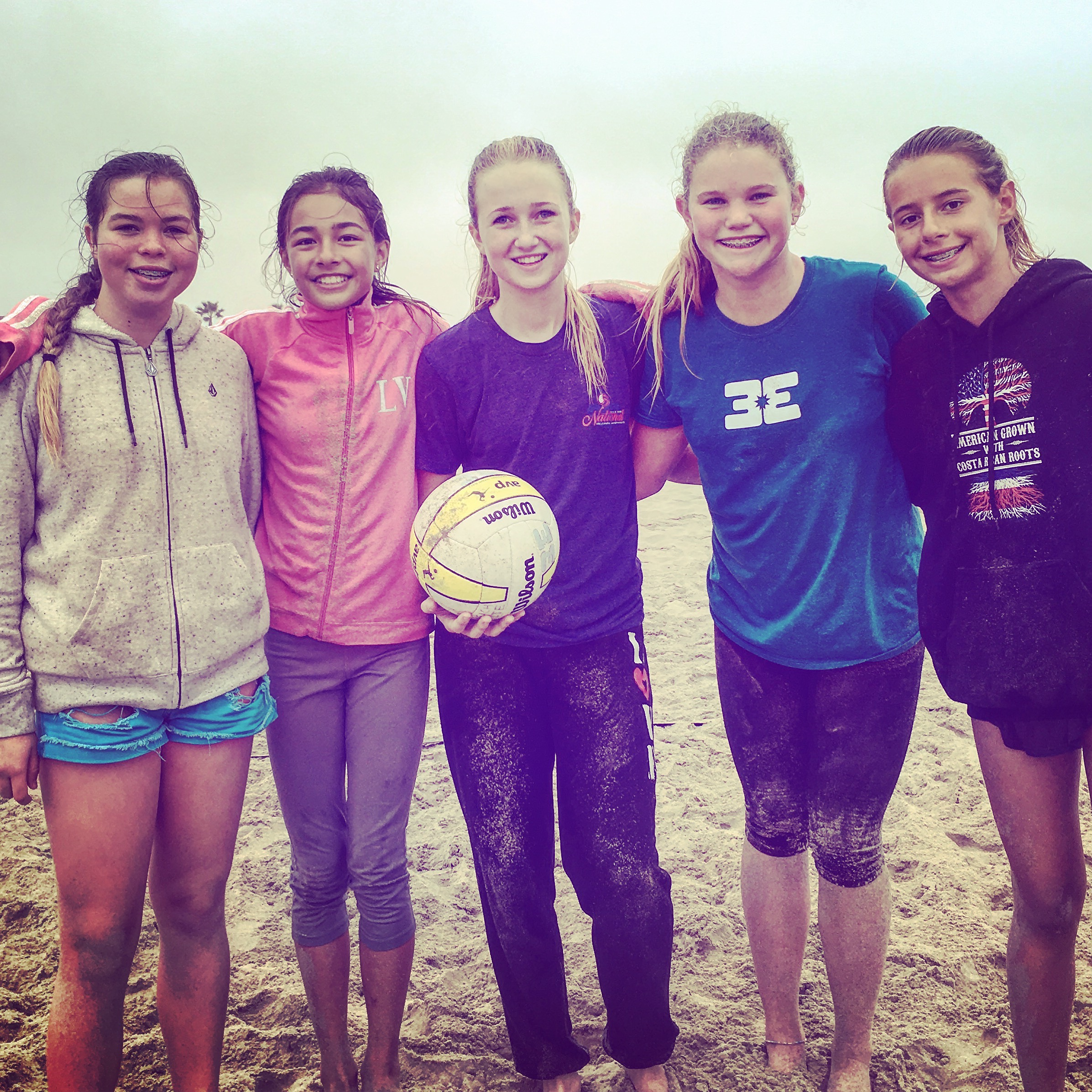 beach elite volleyball girls