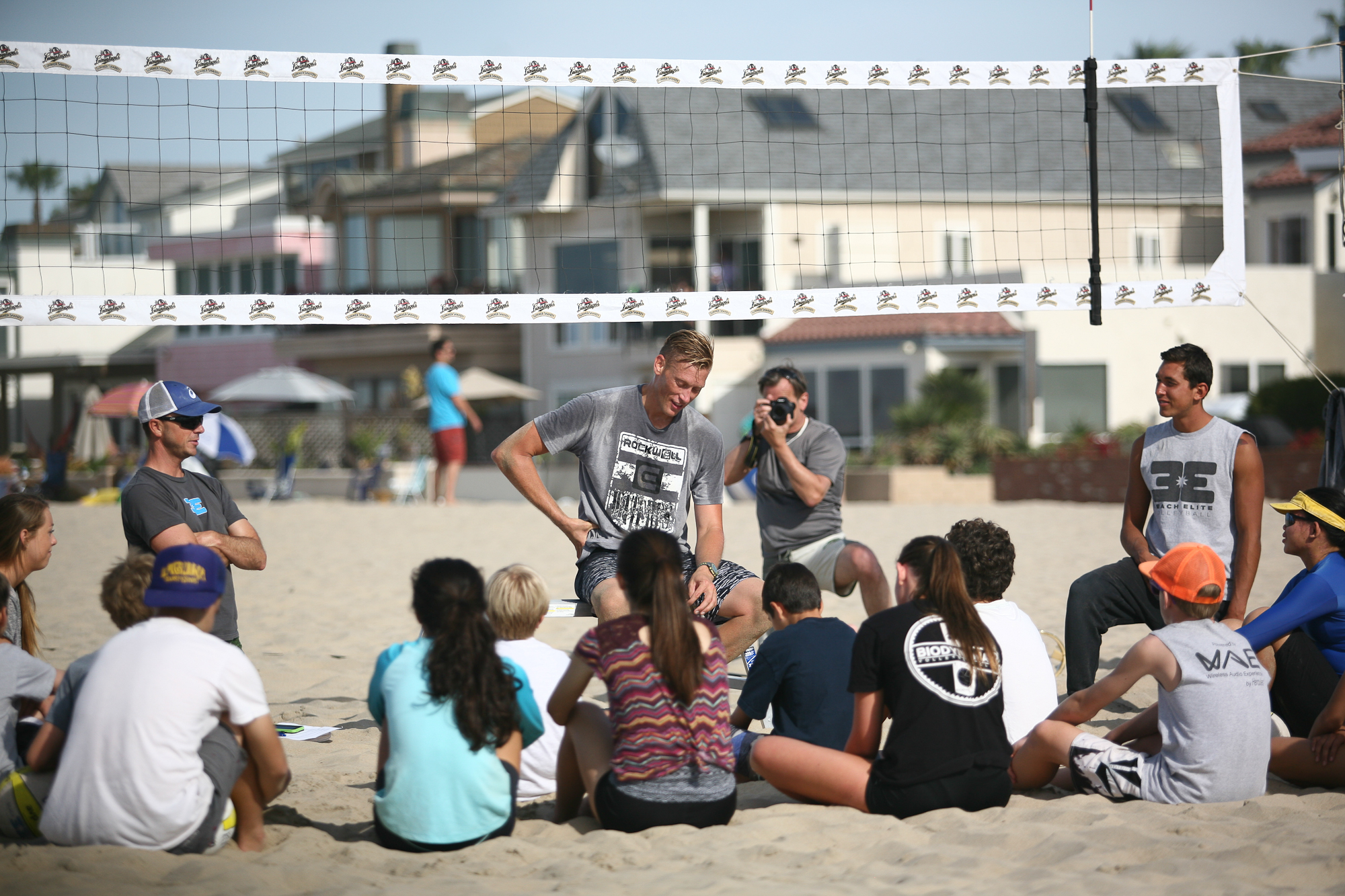 Casey Patterson Camp at Beach Elite 2015