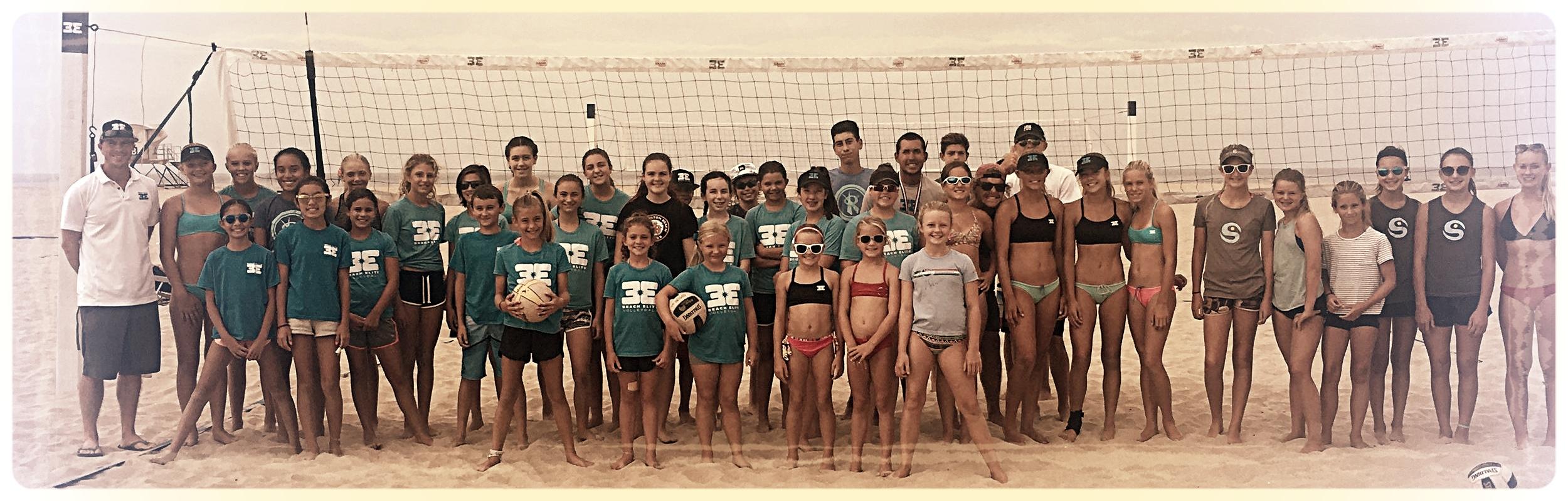 beach elite group photo
