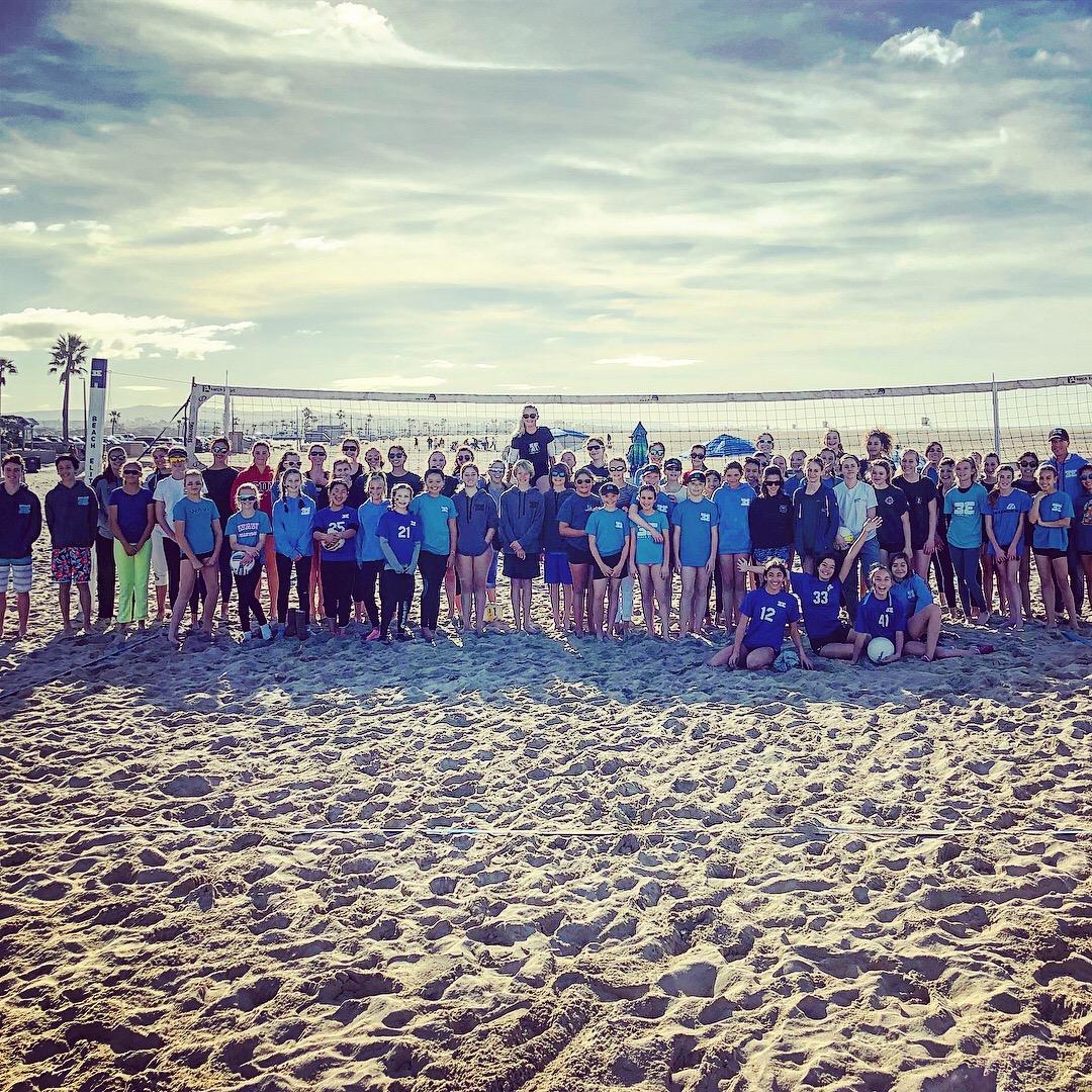 CORONA DEL MAR BEACH VOLLEYBALL CAMPS -