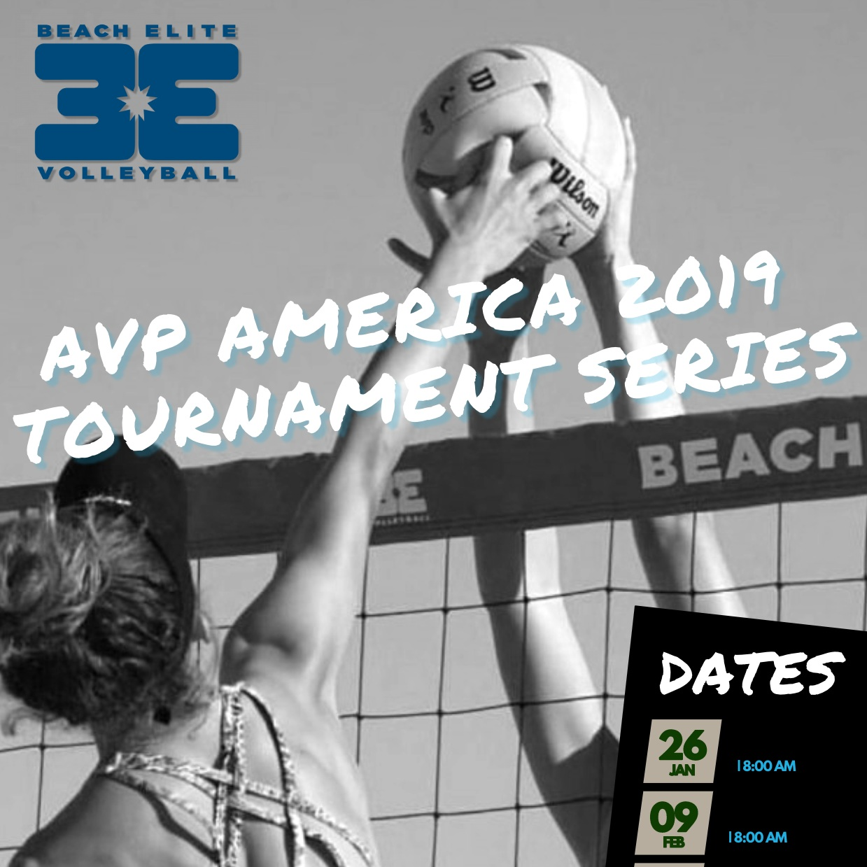 2019 Beach Series - AVP POINTS AWARDED AT ALL OUR TOURNAMENTS