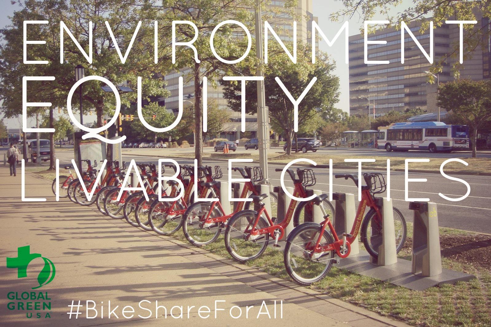Global Green USA Bike Share For All