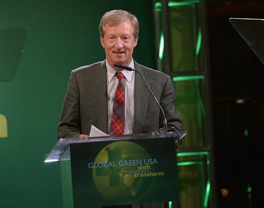 Philanthropist Tom Steyer, Co-Chair, Proposition 39 The California Environmental Leadership Award