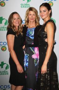 Lori Woodley, Co-Founder of All it Takes,    Laura Dern, Shailene Woodley