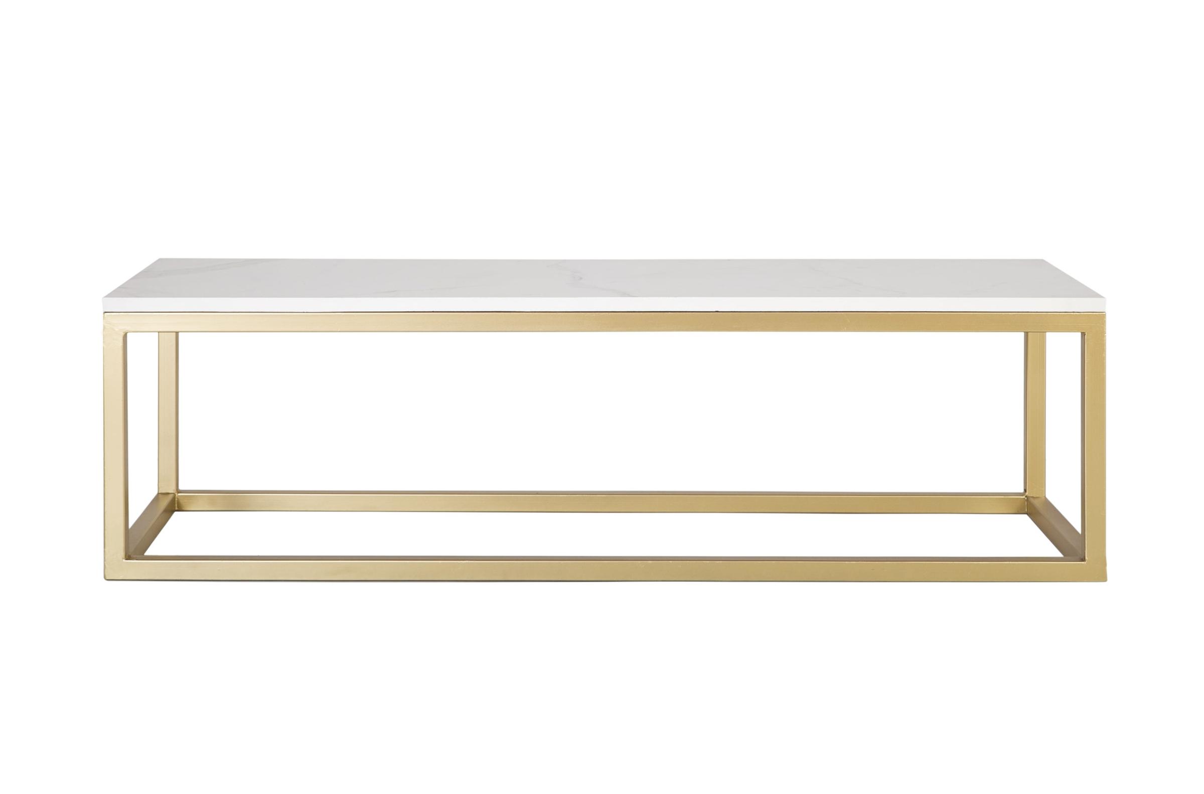rectangular mármol blanco