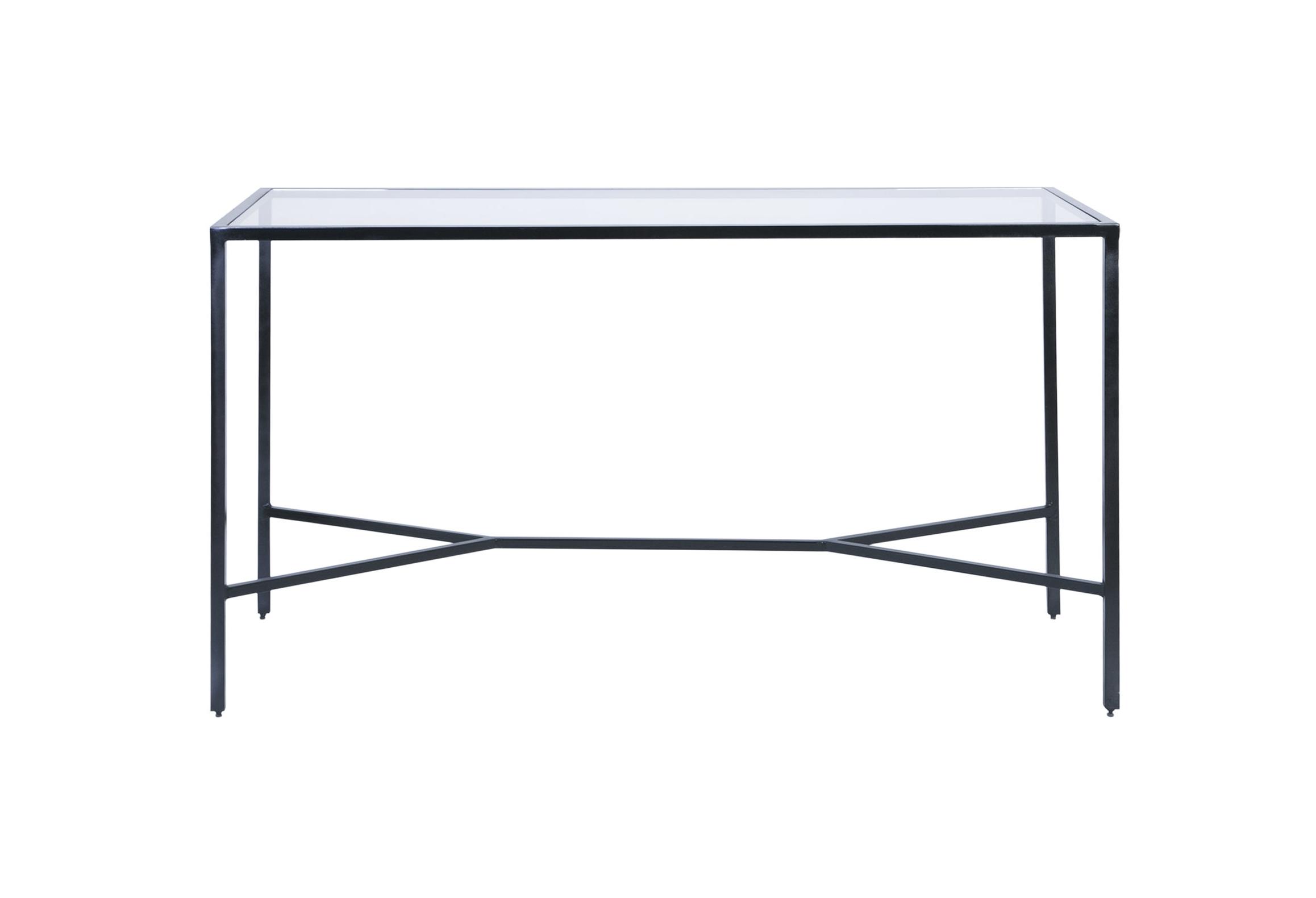 rectangular negra + cristal