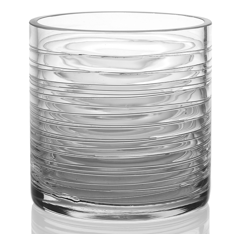 Composition Vase 5'' x 5''