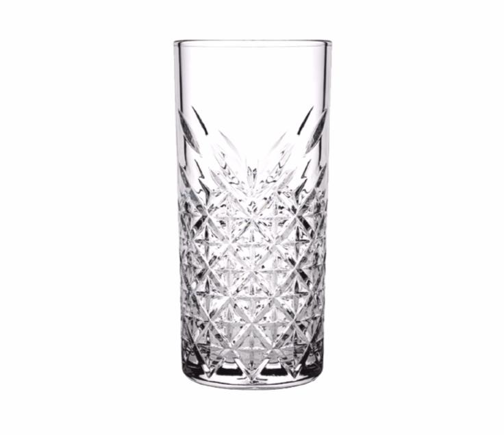 vaso highball cristal cortado 15oz