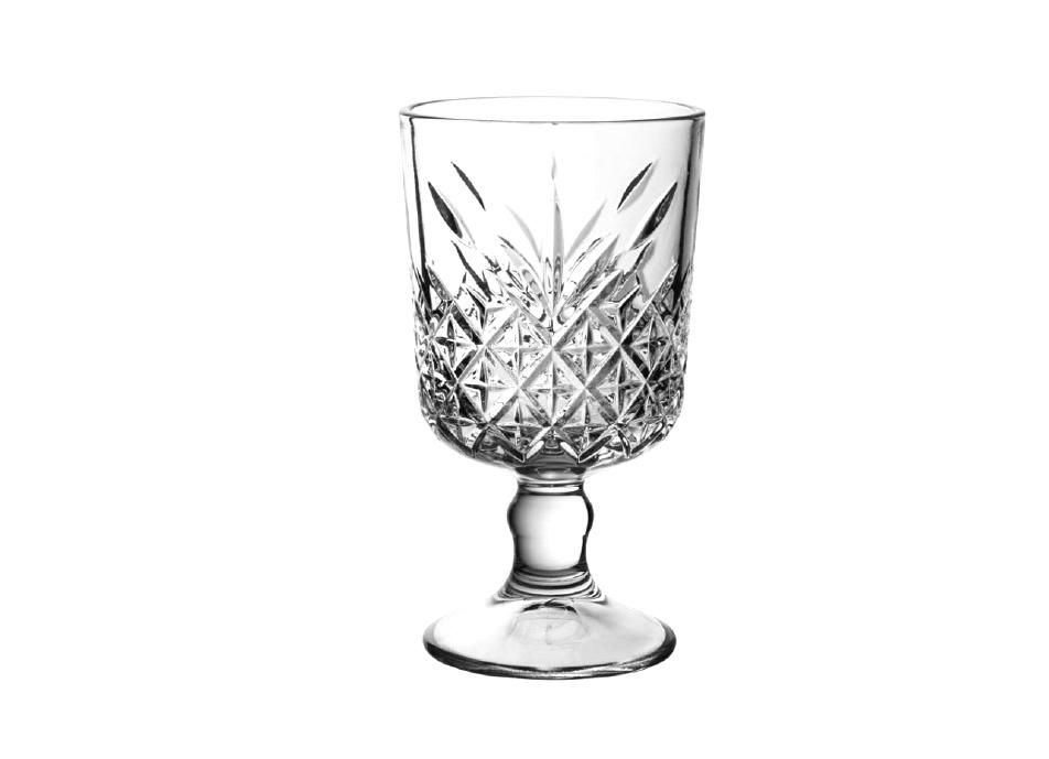 copa agua cristal cortado 11 1/4 oz