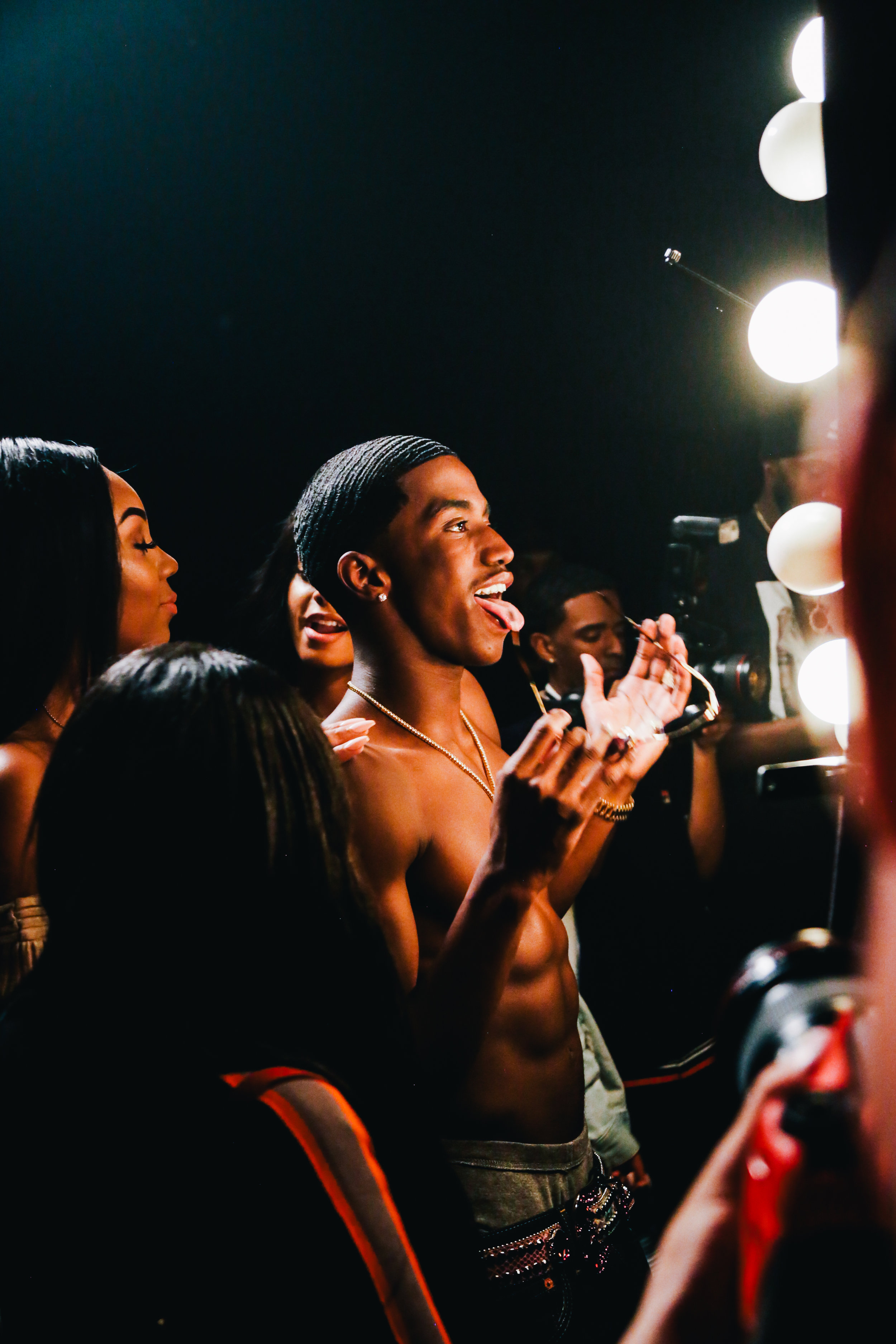 "KING COMBS & CHRIS BROWN ""LOVE YOU BETTER"" MUSIC VIDEO SHOOT"