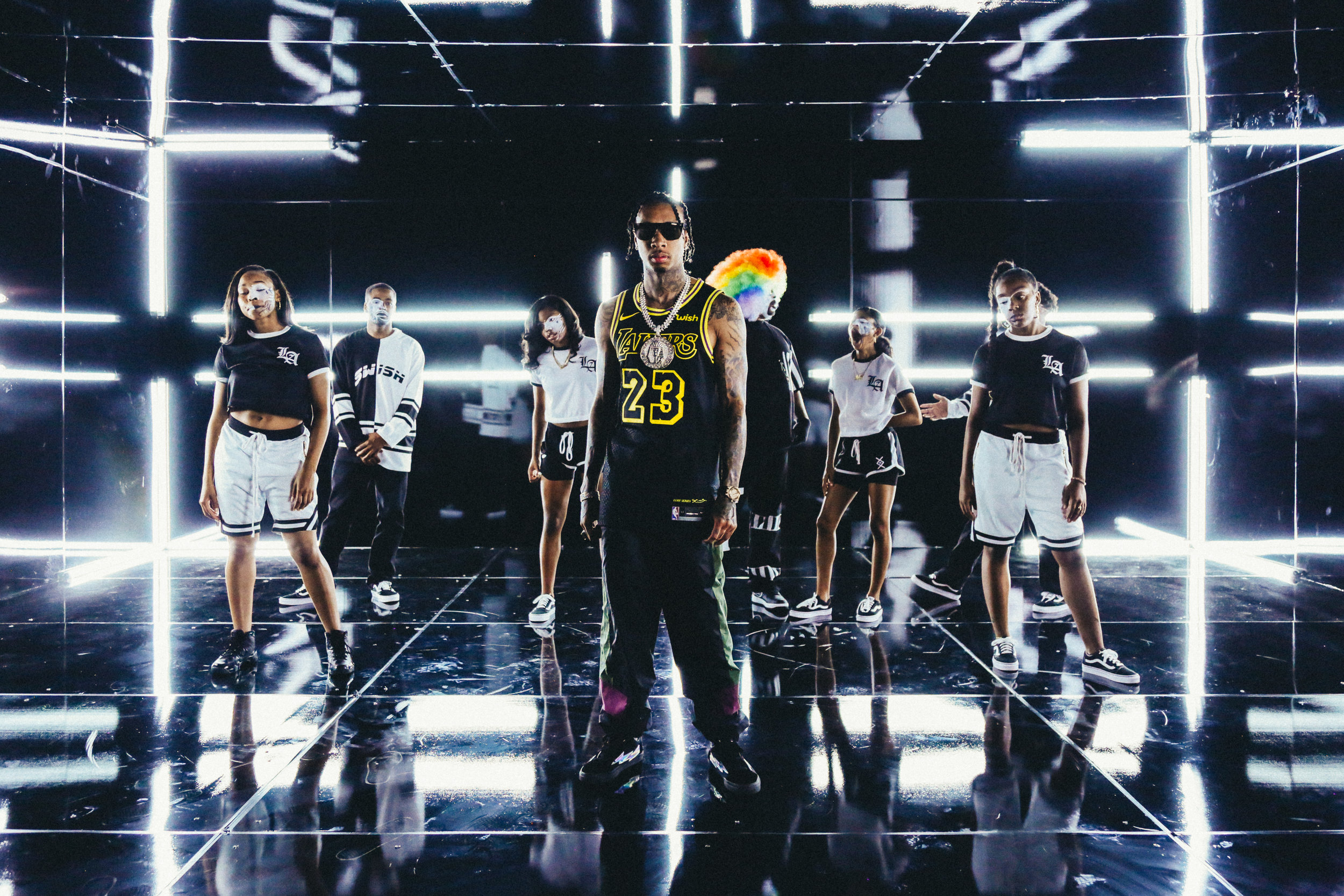 "TYGA ""SWISH"" MUSIC VIDEO SHOOT"