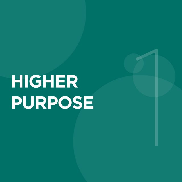 "1. Higher Purpose - Businesses should exist for reasons beyond just making a profit. ""We need red blood cells to live (the same way a business needs profits to live), but the purpose of life is more than to make red blood cells (the same way the purpose of business is more than simply to generate profits)."" – R. Edward Freedman, University of Virginia Darden School of Business professor.Knowing WHY your business exists, provides you with a compass to find and stay focused on achieving your True North (Higher Purpose). Profit is a means to the end of purpose for conscious businesses."