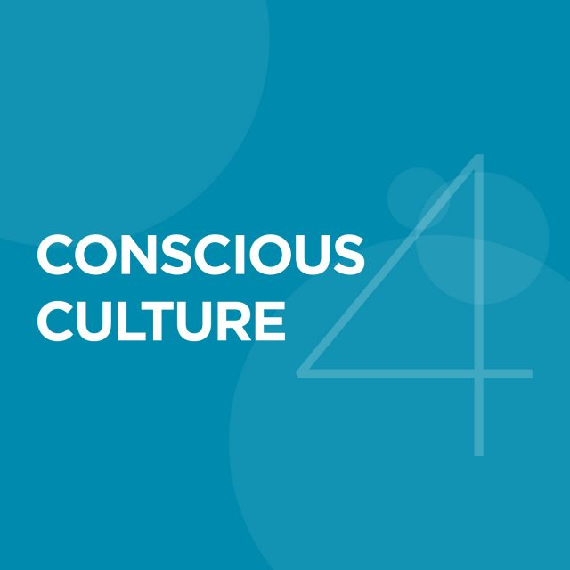 "4. Conscious Culture - Culture is the embodied values, principles and practices underlying the social fabric of a business, signaling ""how"" business is done.The culture of your business is its heartbeat. Without a healthy one, the business will ultimately fail.A Conscious Culture fosters love and care and builds trust between a company's team members and its other stakeholders.Conscious Culture also includes accountability, transparency, integrity, loyalty, egalitarianism, fairness, and personal growth, acting as an energizing and unifying force that truly brings a conscious business to life."