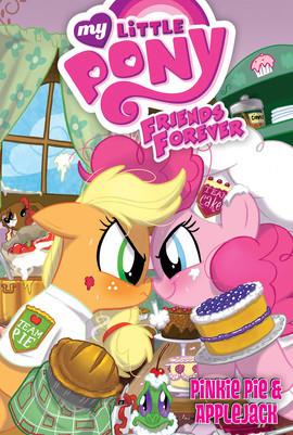My Little Pony Friends Forever; Pinkie Pie and Applejack.jpg