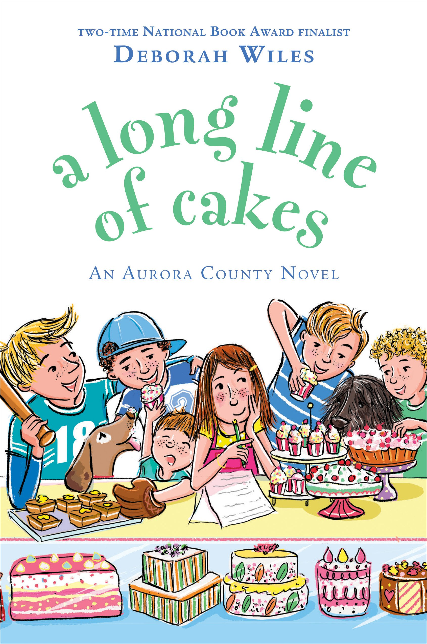 A Long Line of Cakes.jpg