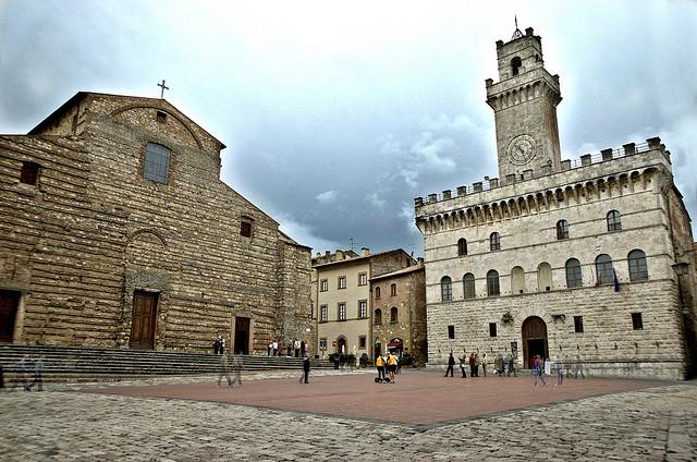 Montepulciano's Piazza Grande
