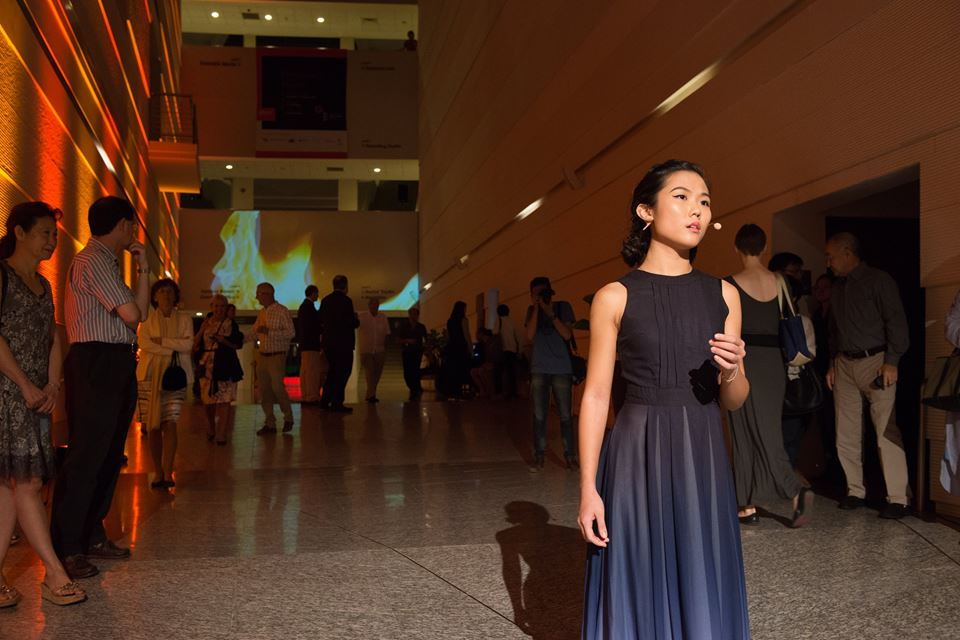 A SITE SPECIFIC EXPERIENCE  - Lights of Denpasar performed at YST Conservatory hallway