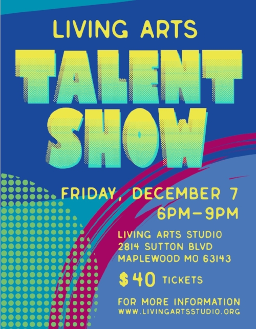 Don't miss our second annual talent show fundraiser!!! - Tickets are $40 which includes an amazing handmade ceramic bowl or cup, soup to go into you belly and the ceramic bowl or cup, silent auction, alcoholic and non alcoholic beverages and laughs galore!!!