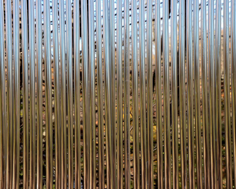 Day-Rain, Mylar & Resin, 7 ft x 7 ft, 2014.