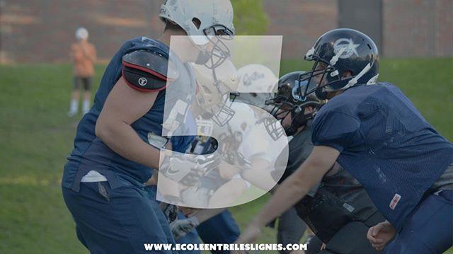Encore 5 jours pour s'inscrire à l'École Entre les Lignes 📣📣Dernière fin de semaine de juillet. Deviens un meilleur joueur de ligne avant ton training camp. Lien dans la bio. . . . . . . . . #juvdiv1 #juvduv1b #footrseq #footballquebec #tqc19 #rseq #colldiv1 #colldiv2 #colldiv3 #footballqc #footballcanada #teamqc2019
