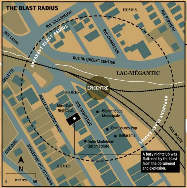 Lac Megantic blast-radius.jpg