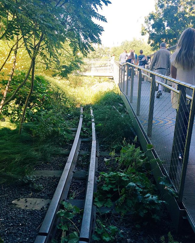 NYC's High Line is proof that community advocacy can strengthen cities.... Imagine a green space for pedestrians instead of #dangerousgoods running through Midtown Toronto?