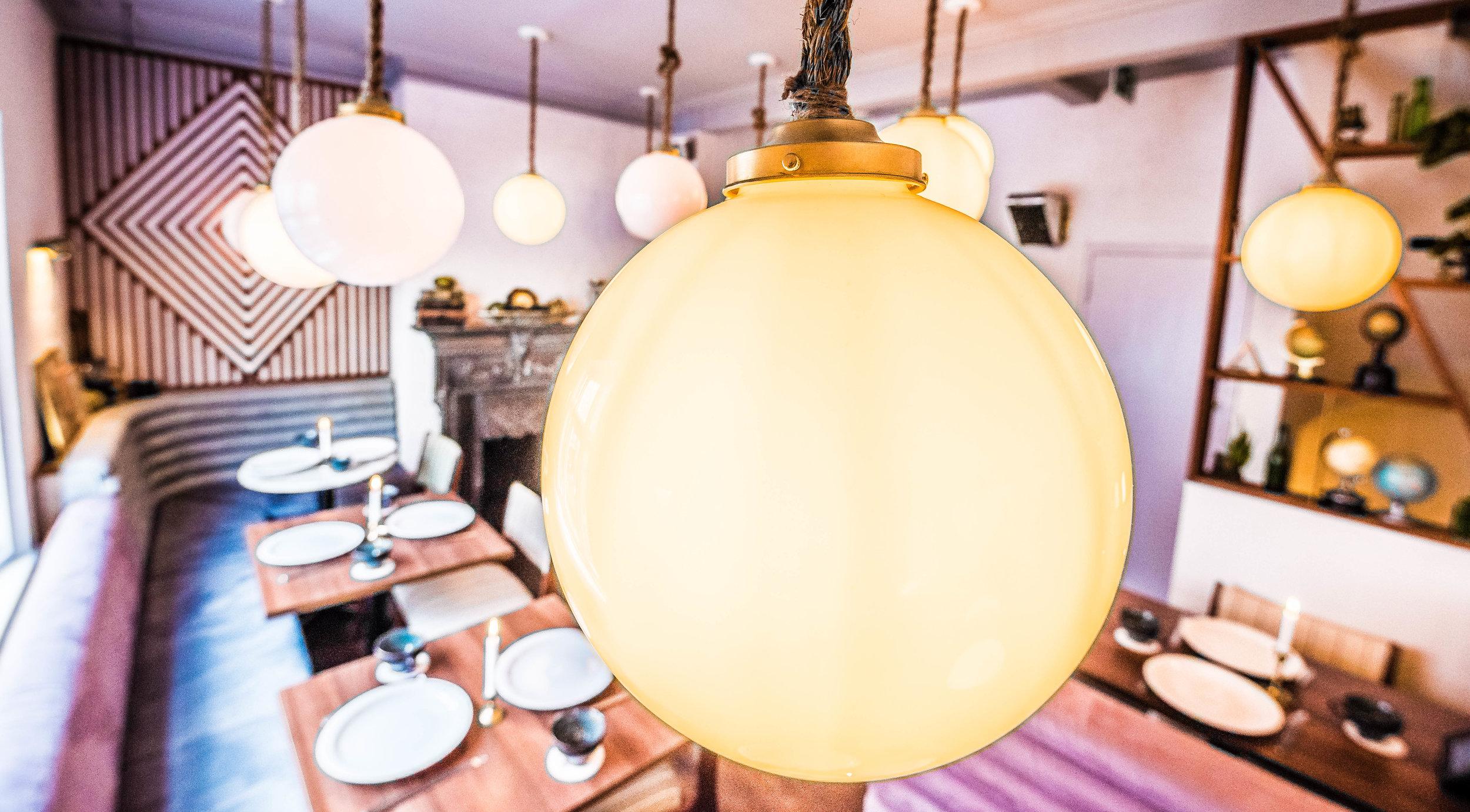 Interior Shots mamie's londres lumiere inspiration