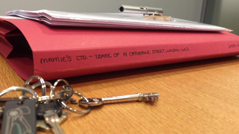 MAMIE'S key - Lease Signature