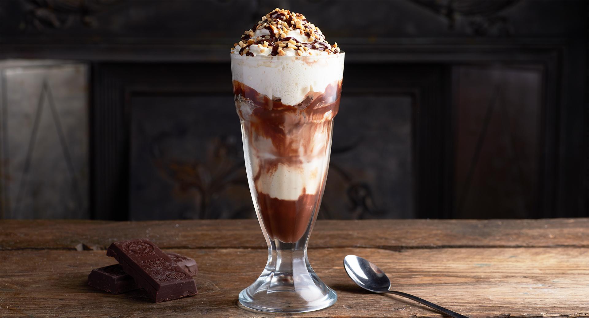 La Anne de Bretagne Ice cream chocolate homemade
