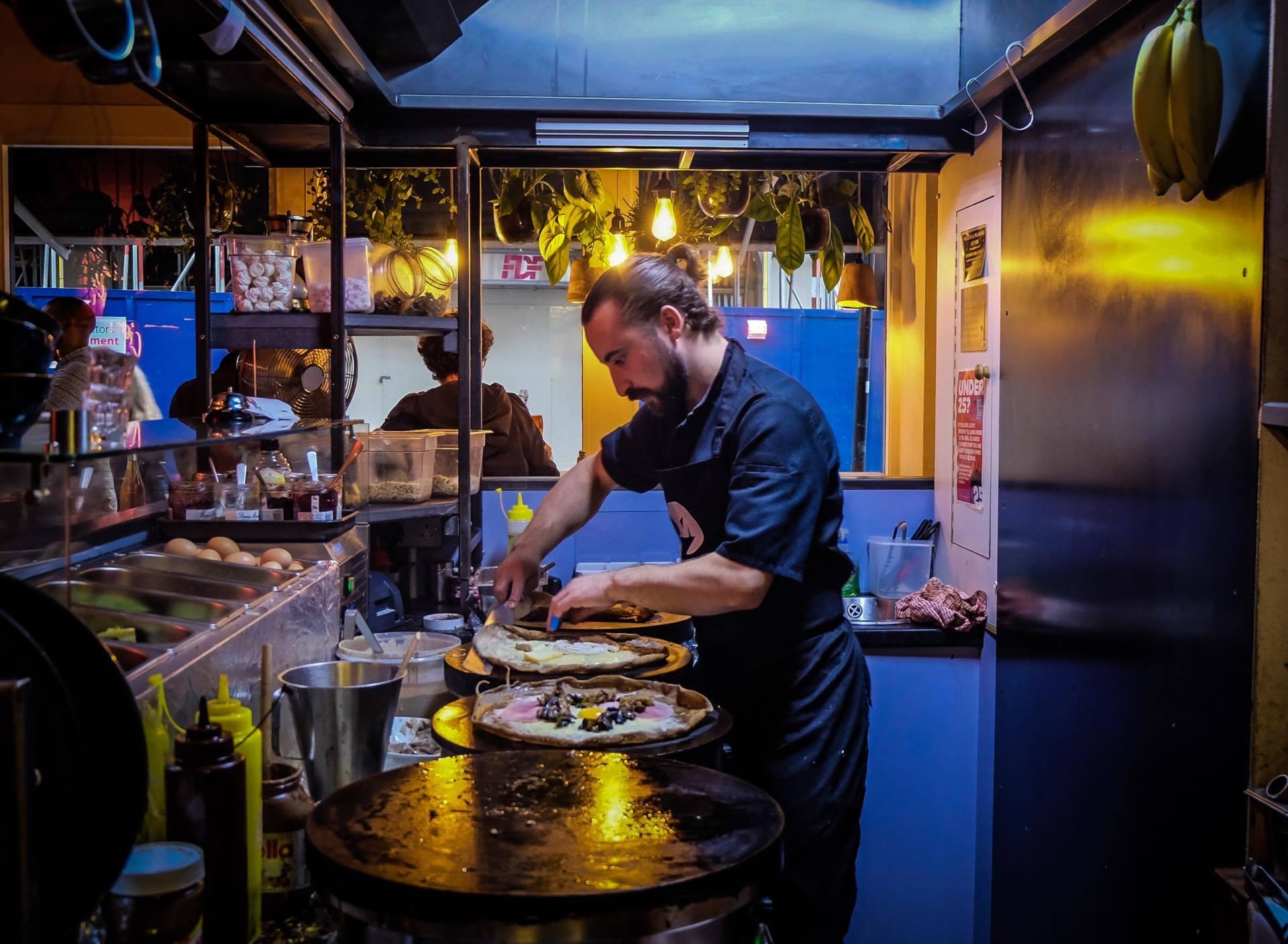 Quentin MAMIE'S Crêpier restaurant londres