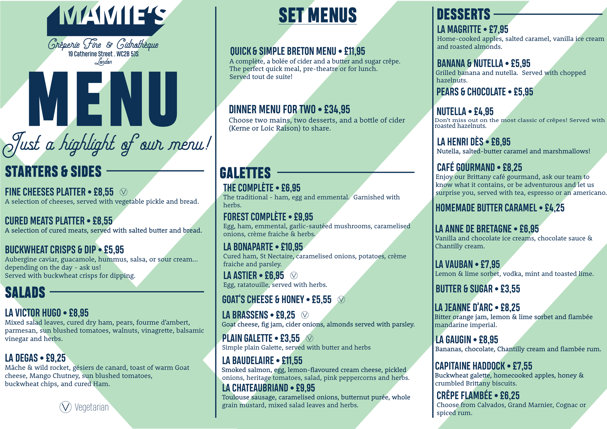 menu mamies covent garden crepe galette