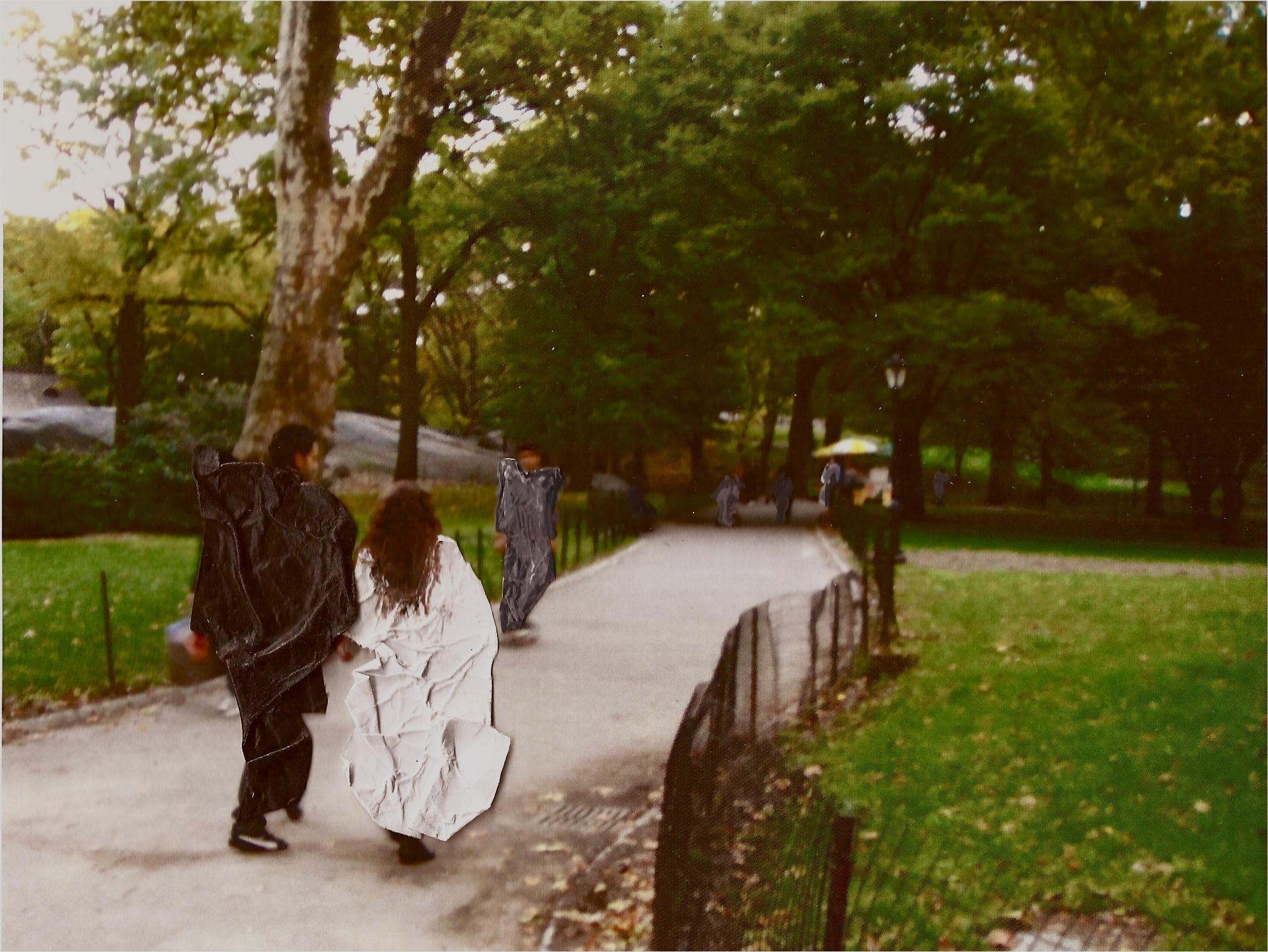 "Lovebirds, Central Park, 2011 Inkjet print on photo paper,5"" x 7"""