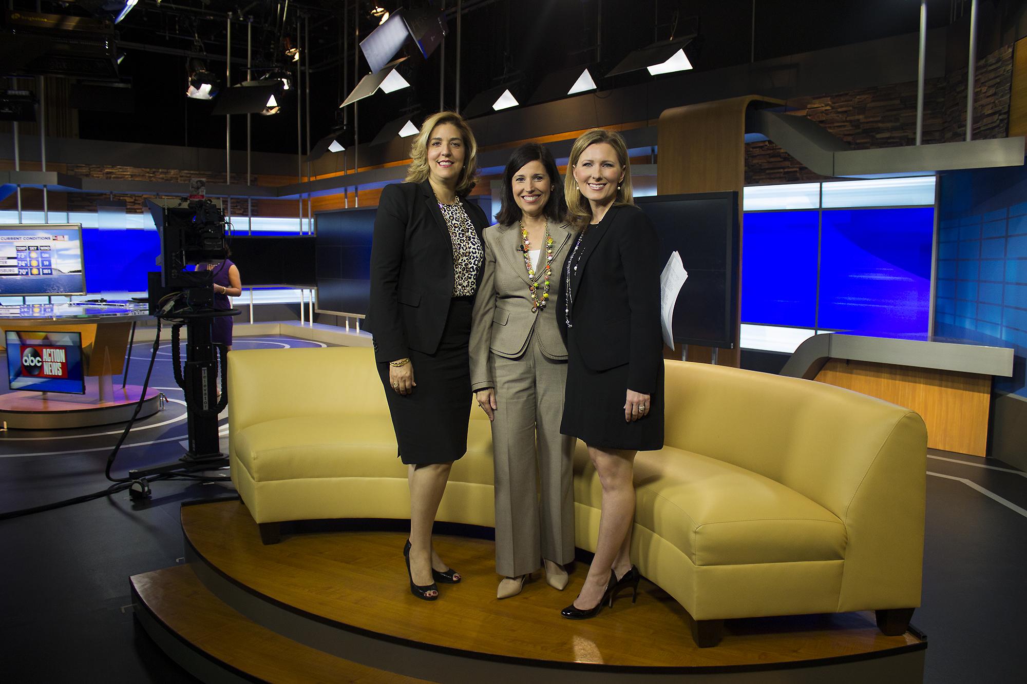 (Left to Right): Arlene DiBenigno, Lissette Campos,Whitney Jones