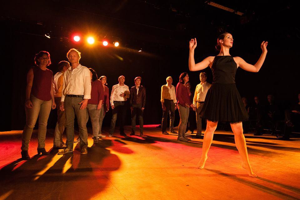 Moderne Dans project van Melanie Dijksma van het Danskantoor in Rotterdam Noord