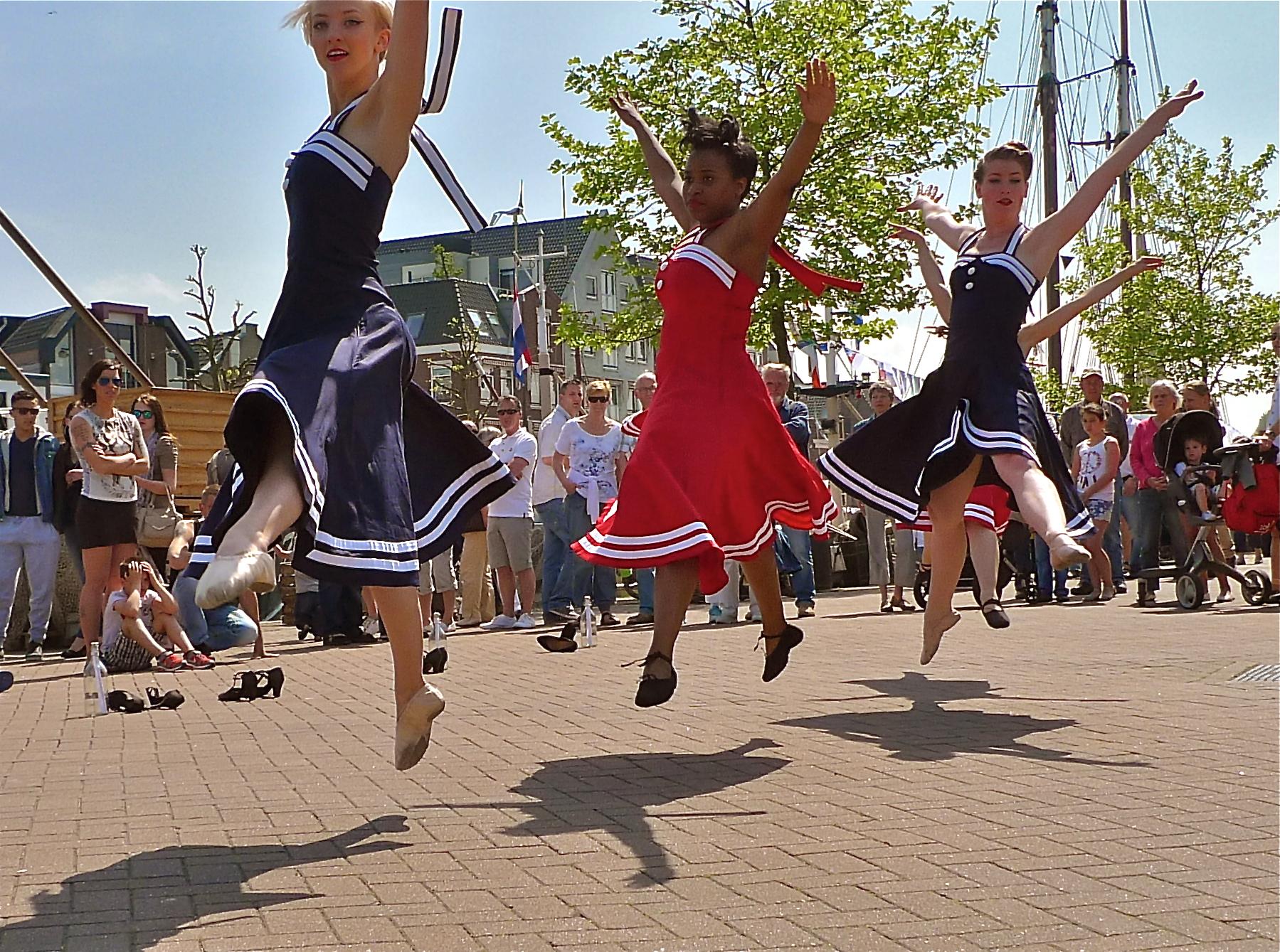 Optreden maritiem feest maassluis 400 jaar Het Danskantoor