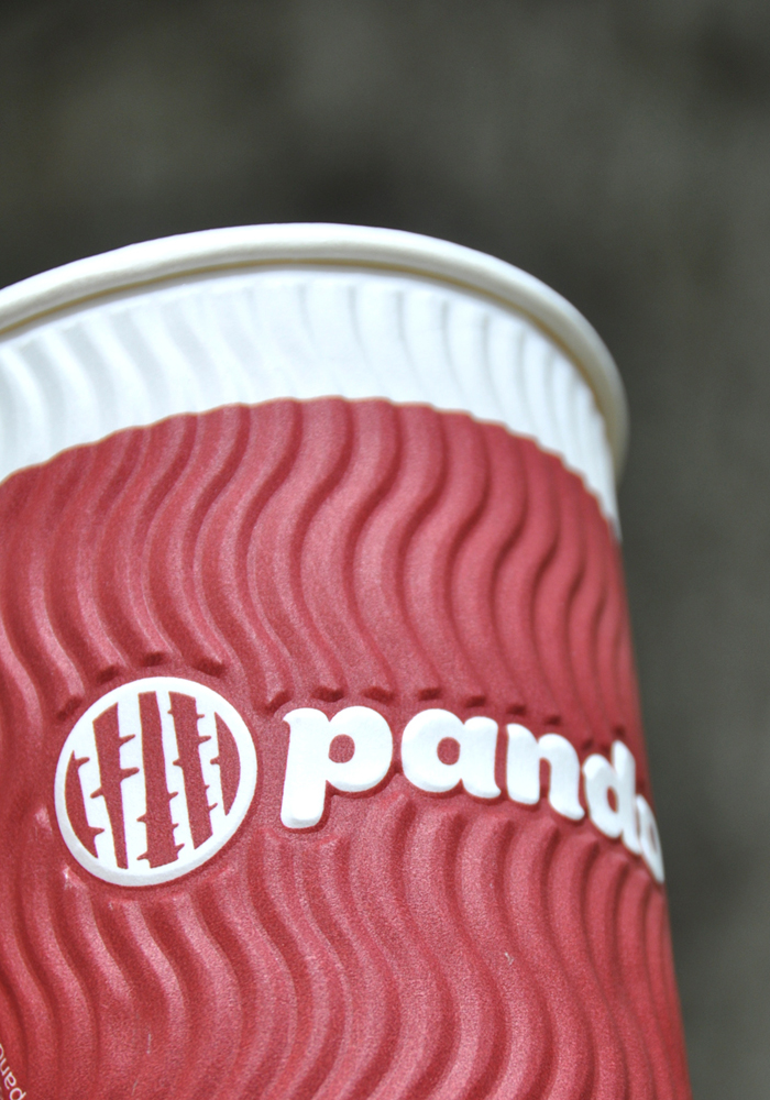 pando cup harmony hot cups red closeup