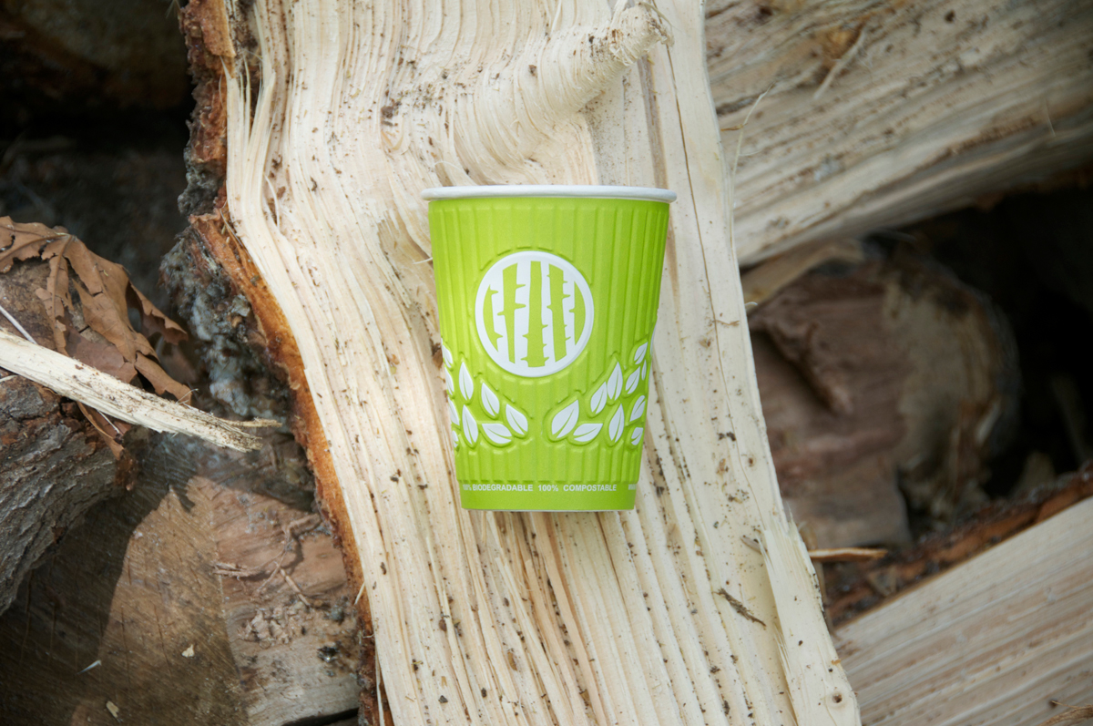Pando cups harmony hot cups green texture