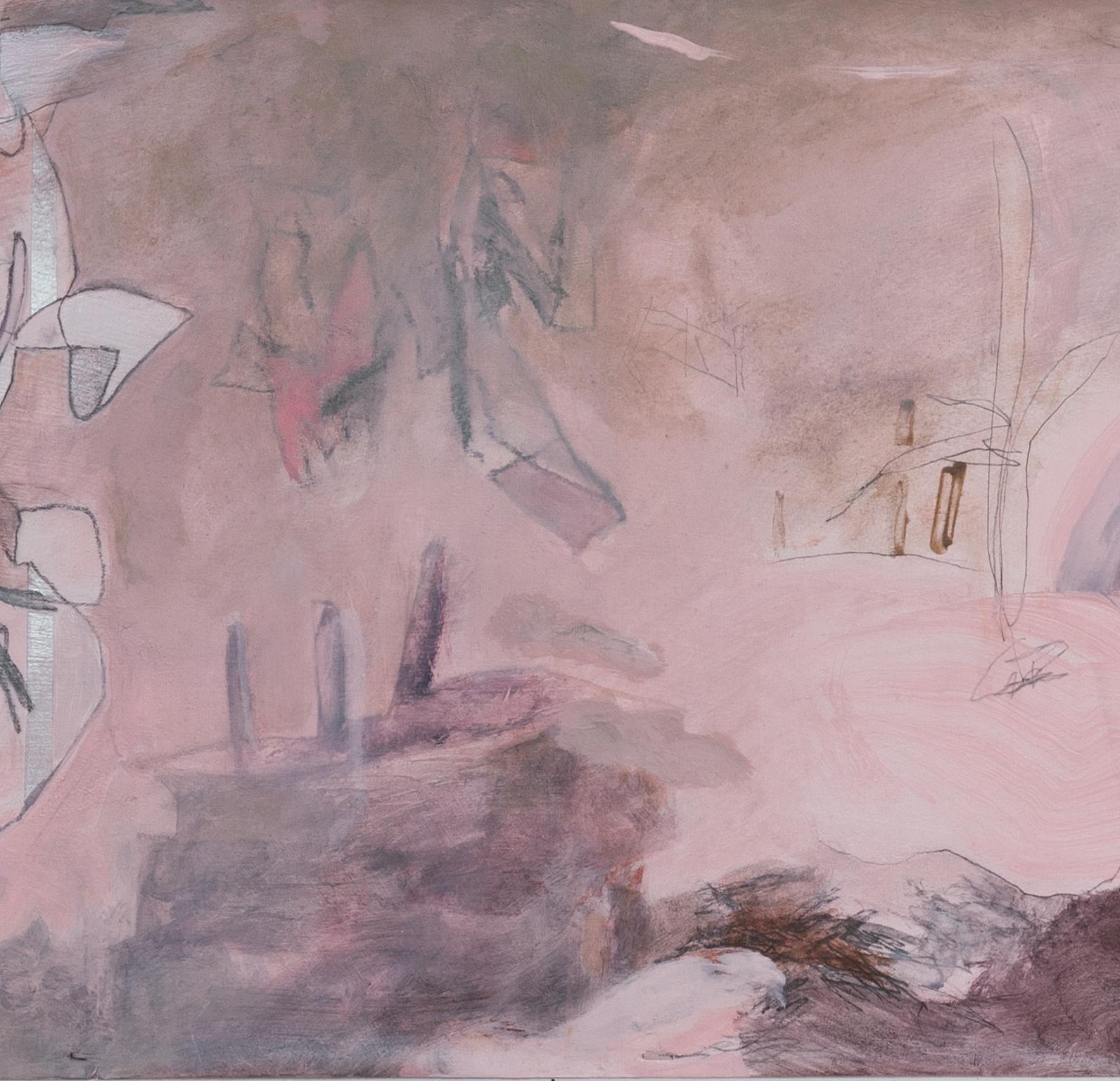 Departure(Pink Painting), detail