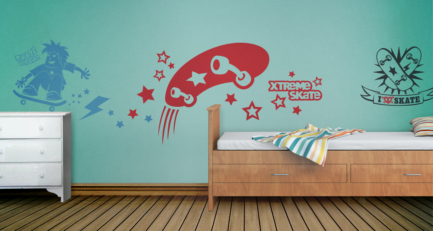 Hip In A Hurry Wall Decals