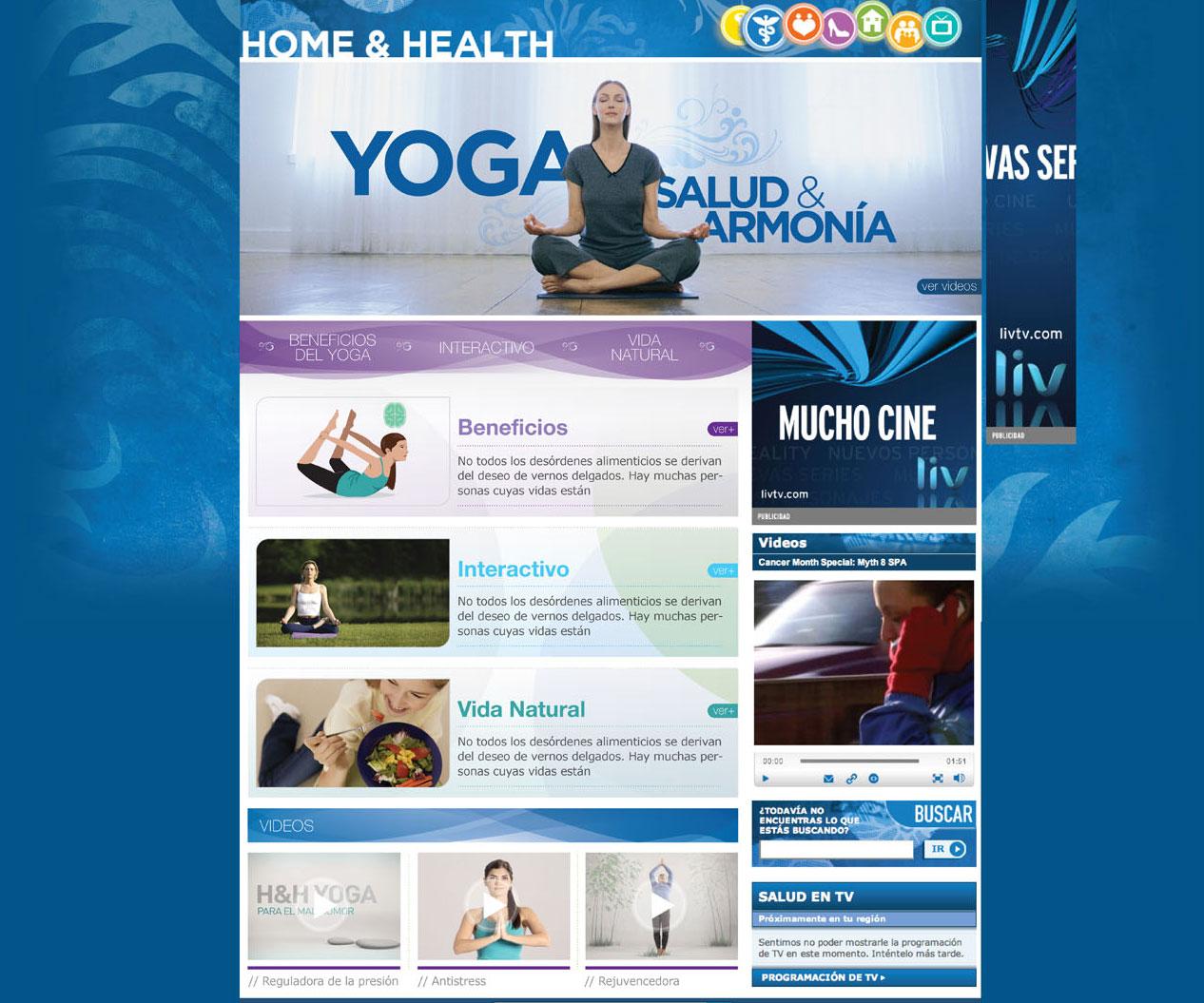 YOGA HOME PAGE