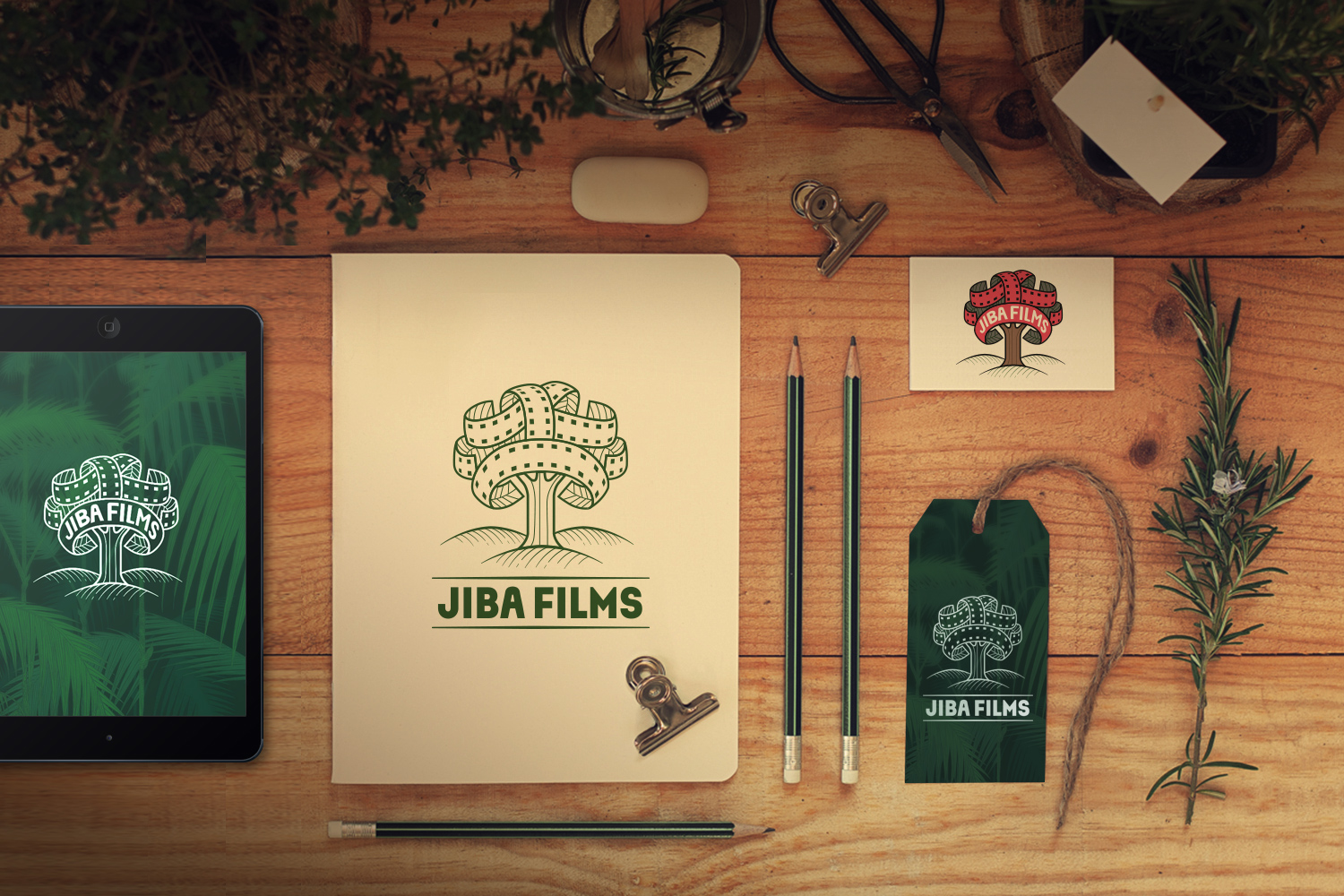 BRANDING FOR JIBA FILMS