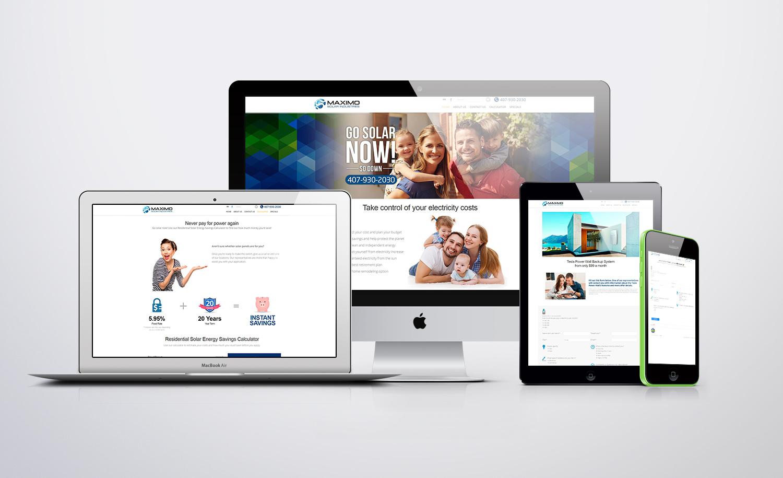 Maximo Solar USA Website