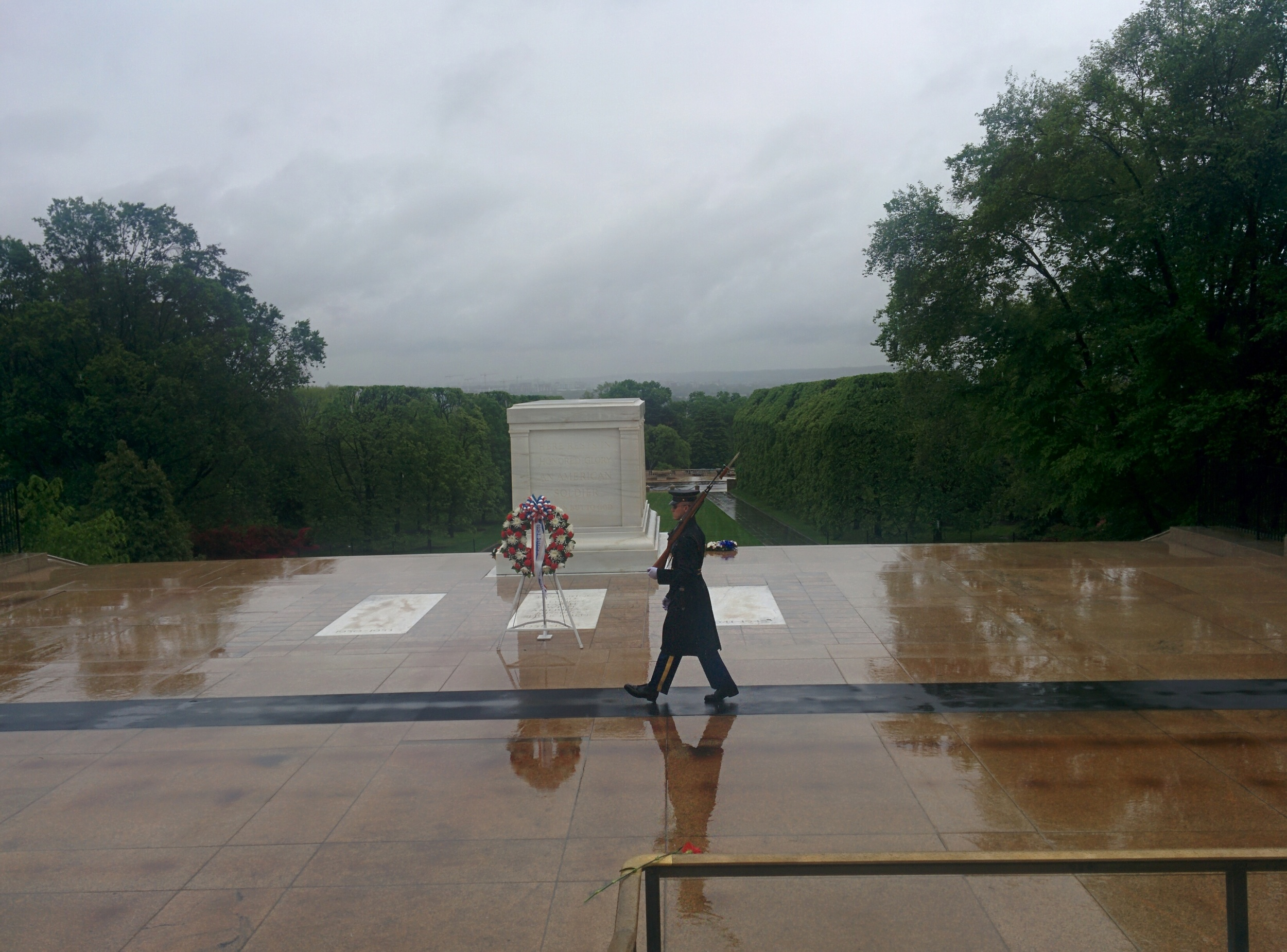 Tomb of the Unknown Soldier at Arlington