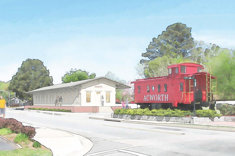 Acworth Depot Design Plan