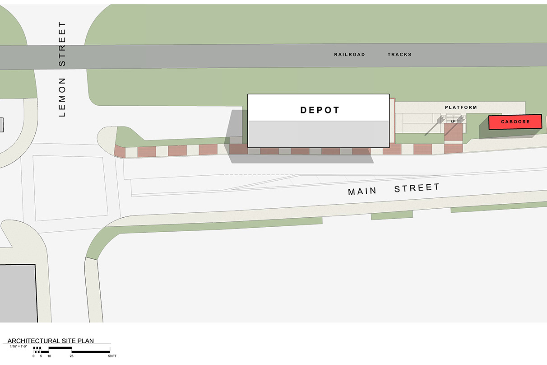 Acworth Depot Site Plan